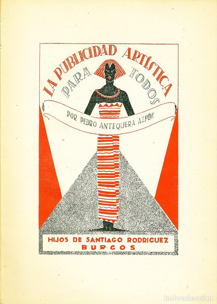 Libros: La publicidad artística para todos, Pedro Antequera Azpiri - Foto 4 - 196981802