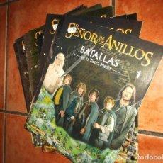 Libros: FIGURAS DE PLOMO EL SEÑOR DE LOS ANILLOS, BATALLAS EN LA TIERRA MEDIA ,2002. Lote 192823248