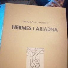 Libros: HERMES I ARIADNA. Lote 154811958