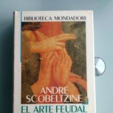 Libros: EL ARTE FEUDAL Y SU CONTENIDO SOCIAL - ANDRE SCOBELTZINE (NUEVO.PRECINTADO). Lote 200793597