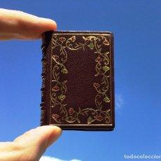 Libros: LIBRO MINIATURA - DE LOS CONSEJOS QUE DIO DON QUIJOTE A SANCHO PANZA - ENCUADERNACIÓN DE LUJO.. Lote 201125751