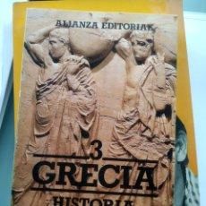 Libros: GRECIA - HISTORIA ILUSTRADA DE LAS FORMAS ARTÍSITICAS (NUEVO). Lote 201840586