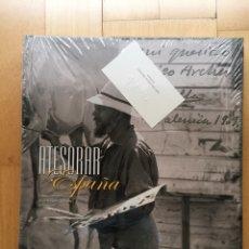 Libros: LIBRO ATESORAR ESPAÑA. FONDOS FOTOGRÁFICOS DE LA HISPANIC SOCIETY OF AMERICA BANCAJA 2011. Lote 204156006