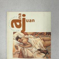 Libros: ANA JUAN Y MAMAGRAF LIBRO Y SERIGRAFIA. Lote 204668953