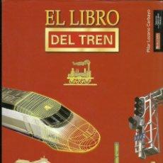 Libros: LIBRO DEL TREN , 150 AÑOS DEL FERROCARRIL EN ESPAÑA. Lote 205375695