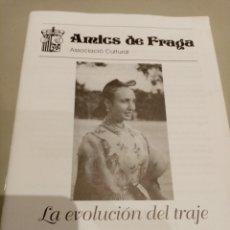 Libros: LA EVOLUCIÓN DEL TRAJE TRADICIONAL FRAGATINO-S.MENEN. Lote 205457516