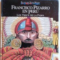 Libros: LIBRO COLECCIONABLE RELATOS DEL NUEVO MUNDO -LOS TRECE DE LA FAMA. Lote 205611470