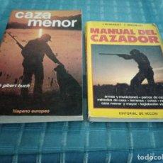 Libros: LOTE DE DOS LIBROS DE CAZA. Lote 206302658