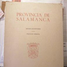 Libros: PROVINCIA DE SALAMANCA REVISTA DE ESTUDIOS NÚMERO 2 AÑO 1982 RÚSTICA. Lote 206809125