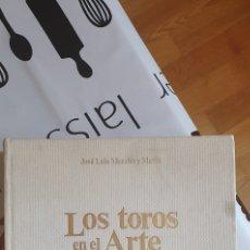Libros: LOS TOROS EN EL ARTE ESPASA CALPE TAUROMAQUIA. Lote 206957410