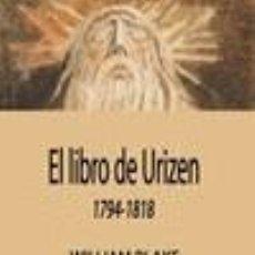 Libros: EL LIBRO DE URIZEN. Lote 207189625