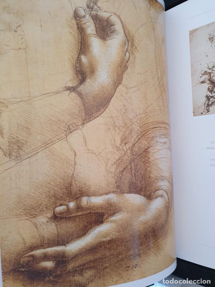 Libros: LEONARDO DA VINCI 500 ANIVERSARIO FASCIMIL EDIC. SKEL Nº 35 DE 2998 EN EXPOSITOR FIRMADO NOTARIO - Foto 11 - 207338080