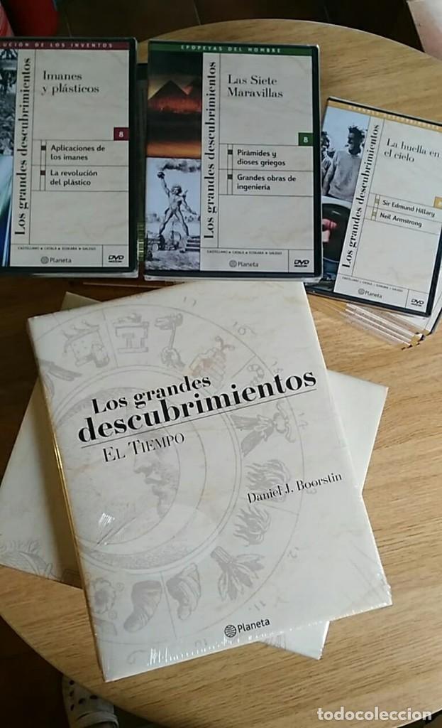 6 TOMOS Y 24 DVD'S PRECINTADOS - LOS GRANDES DESCUBRIMIENTOS - EDITORIAL PLANETA- DANIEL J. BOORSTIN (Libros Nuevos - Bellas Artes, ocio y coleccionismo - Otros)
