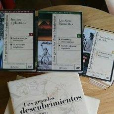 Libros: 6 TOMOS Y 24 DVD'S PRECINTADOS - LOS GRANDES DESCUBRIMIENTOS - EDITORIAL PLANETA- DANIEL J. BOORSTIN. Lote 208183198