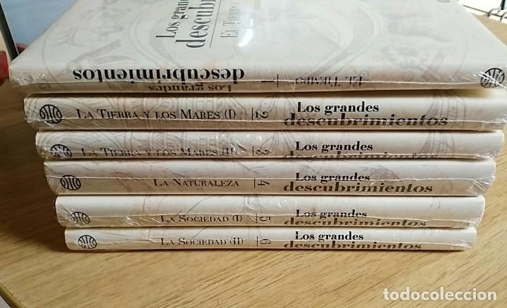 Libros: 6 TOMOS Y 24 DVDS PRECINTADOS - LOS GRANDES DESCUBRIMIENTOS - EDITORIAL PLANETA- DANIEL J. BOORSTIN - Foto 2 - 208183198