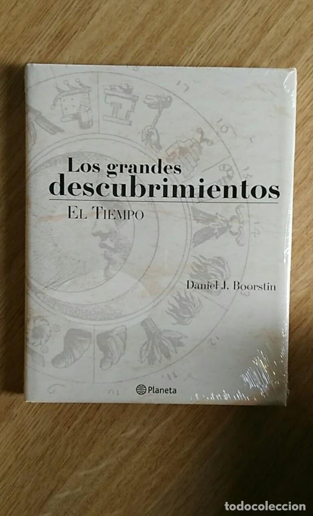 Libros: 6 TOMOS Y 24 DVDS PRECINTADOS - LOS GRANDES DESCUBRIMIENTOS - EDITORIAL PLANETA- DANIEL J. BOORSTIN - Foto 5 - 208183198