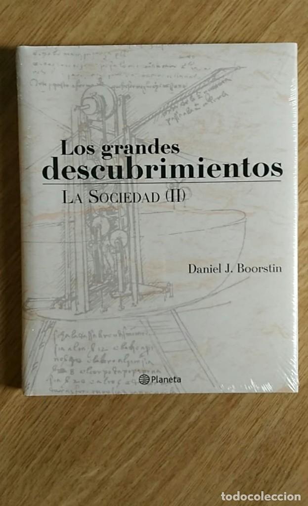 Libros: 6 TOMOS Y 24 DVDS PRECINTADOS - LOS GRANDES DESCUBRIMIENTOS - EDITORIAL PLANETA- DANIEL J. BOORSTIN - Foto 6 - 208183198