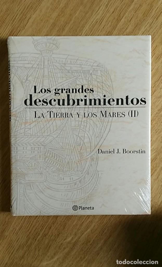 Libros: 6 TOMOS Y 24 DVDS PRECINTADOS - LOS GRANDES DESCUBRIMIENTOS - EDITORIAL PLANETA- DANIEL J. BOORSTIN - Foto 7 - 208183198