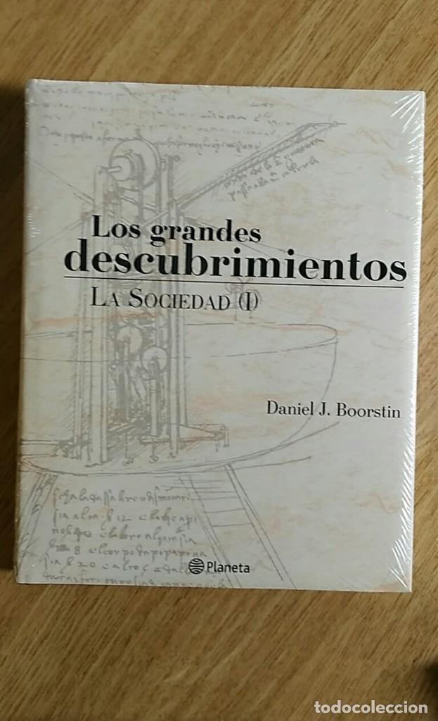 Libros: 6 TOMOS Y 24 DVDS PRECINTADOS - LOS GRANDES DESCUBRIMIENTOS - EDITORIAL PLANETA- DANIEL J. BOORSTIN - Foto 8 - 208183198