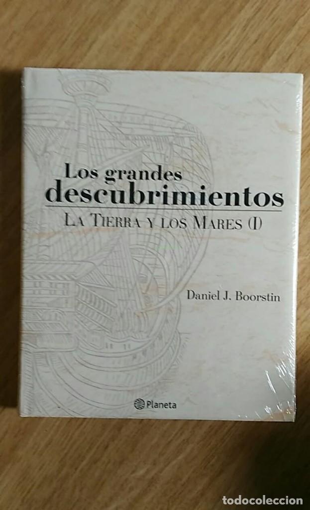 Libros: 6 TOMOS Y 24 DVDS PRECINTADOS - LOS GRANDES DESCUBRIMIENTOS - EDITORIAL PLANETA- DANIEL J. BOORSTIN - Foto 9 - 208183198
