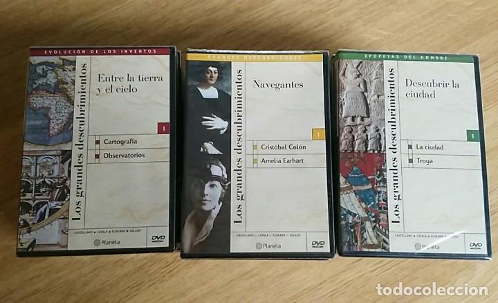 Libros: 6 TOMOS Y 24 DVDS PRECINTADOS - LOS GRANDES DESCUBRIMIENTOS - EDITORIAL PLANETA- DANIEL J. BOORSTIN - Foto 10 - 208183198