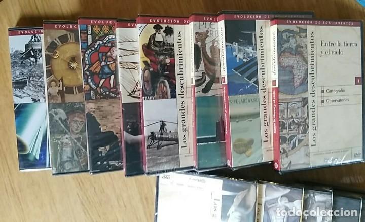 Libros: 6 TOMOS Y 24 DVDS PRECINTADOS - LOS GRANDES DESCUBRIMIENTOS - EDITORIAL PLANETA- DANIEL J. BOORSTIN - Foto 11 - 208183198
