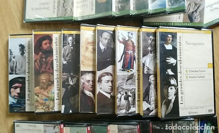 Libros: 6 TOMOS Y 24 DVDS PRECINTADOS - LOS GRANDES DESCUBRIMIENTOS - EDITORIAL PLANETA- DANIEL J. BOORSTIN - Foto 12 - 208183198