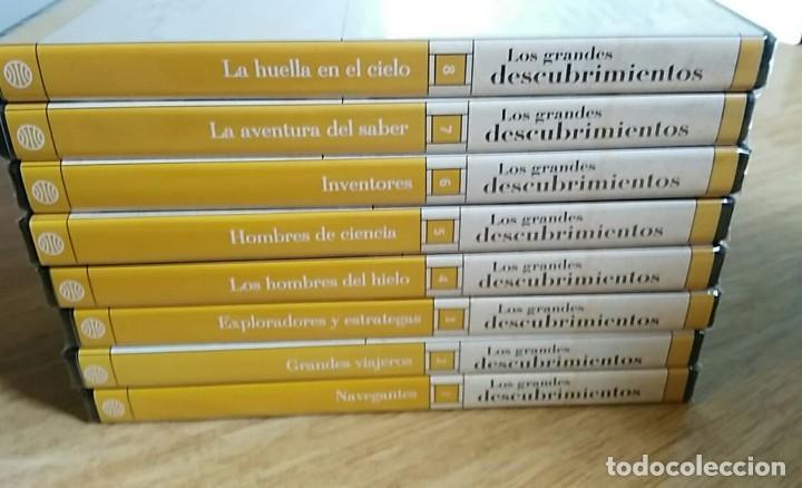 Libros: 6 TOMOS Y 24 DVDS PRECINTADOS - LOS GRANDES DESCUBRIMIENTOS - EDITORIAL PLANETA- DANIEL J. BOORSTIN - Foto 16 - 208183198