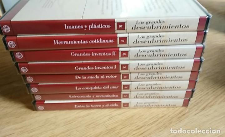 Libros: 6 TOMOS Y 24 DVDS PRECINTADOS - LOS GRANDES DESCUBRIMIENTOS - EDITORIAL PLANETA- DANIEL J. BOORSTIN - Foto 17 - 208183198
