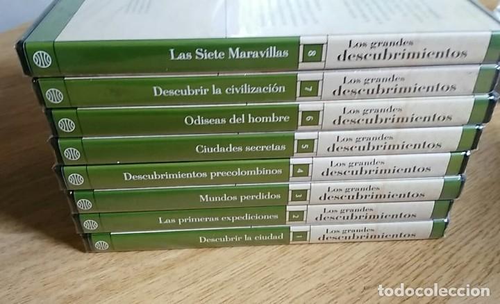 Libros: 6 TOMOS Y 24 DVDS PRECINTADOS - LOS GRANDES DESCUBRIMIENTOS - EDITORIAL PLANETA- DANIEL J. BOORSTIN - Foto 18 - 208183198