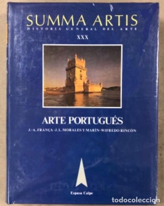 SUMMA ARTIS (HISTORIA GENERAL DEL ARTE). TOMO XXX. ARTE PORTUGUÉS. VV.AA.. ED. ESPASA CALPE. (Libros Nuevos - Bellas Artes, ocio y coleccionismo - Otros)