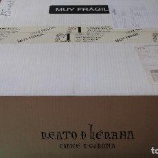 Libros: BEATO LIÉBANA, CÓDICE DE GIRONA - MOLEIRO (FACSÍMIL NUEVO SIN ABRIR). Lote 208431101