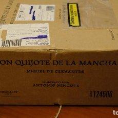Libros: EL QUIJOTE ILUSTRADO POR ANTONIO MINGOTE - ED. PLANETA (FACSÍMIL EN CAJA SIN ABRIR). Lote 209417125
