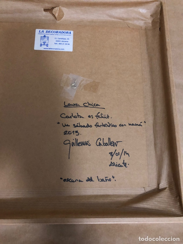 Libros: Exclusivo dibujo original del libro carlota es feliz - Foto 4 - 210349057