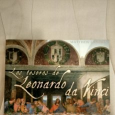 Livros: LOS TESOROS DE LEONARDO DA VINCI METTHEW LAMDRUS INCLUYE DOCUMENTOS Y 30 EXTRAORDINARIOS FACSIMILES. Lote 210471150
