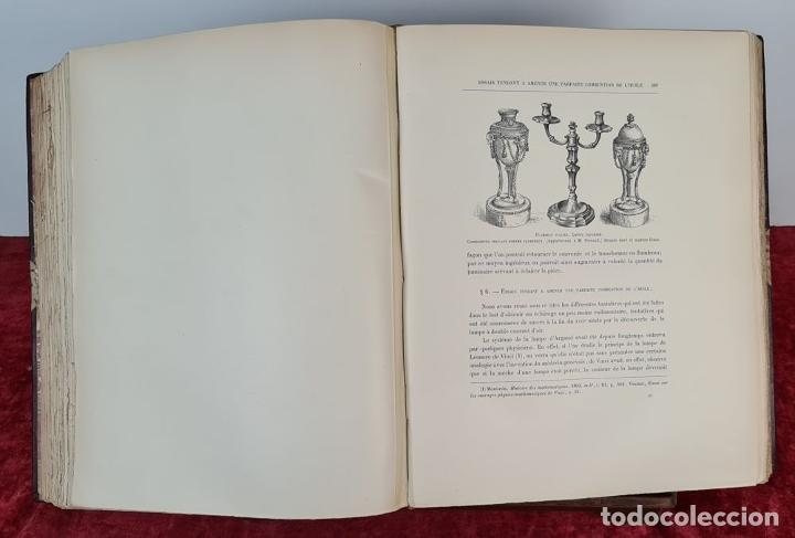 Libros: HISTOIRE DE LUMINAIRE. HENRY RENE DALLEAMGNE. EDIT. ALPHONSE PICARD. 1891. - Foto 8 - 212511175