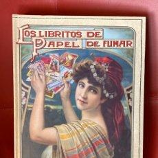 Libros: LOS LIBRITOS DE PAPEL DE FUMAR - 1A EDICIÓN. Lote 212978772