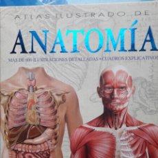 Libros: ATLAS ILUSTRADO DE ANATOMÍA, EDITORIAL SUSAETA. Lote 213492537