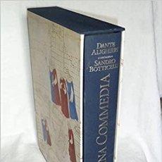 Livros: LA DIVINA COMEDIA DANTE/BOTTICELLI LA LETTERE (ITALIA) 1997. Lote 213912142