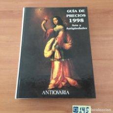 Libros: GUÍA DE PRECIO A 1998. Lote 214180748