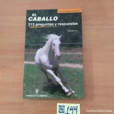 Libros: EL CABALLO. Lote 214181367