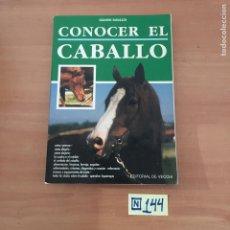 Libros: CONOCER EL CABALLO. Lote 214181458