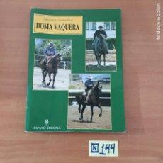 Libros: DOMA VAQUERA. Lote 214181561