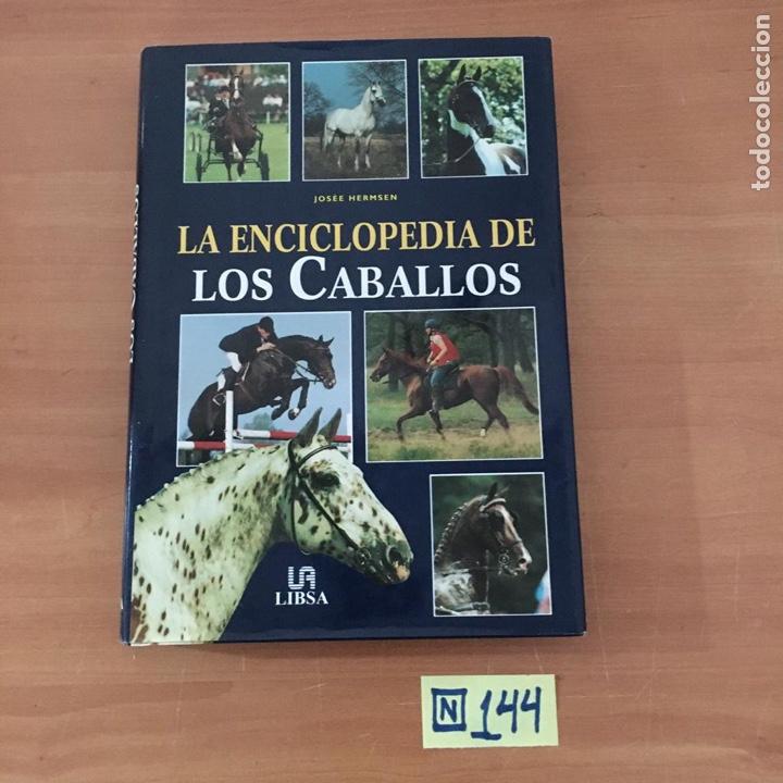 LA ENCICLOPEDIA DE LOS CABALLOS (Libros Nuevos - Bellas Artes, ocio y coleccionismo - Otros)
