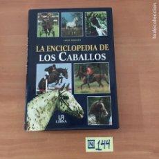 Libros: LA ENCICLOPEDIA DE LOS CABALLOS. Lote 214181595