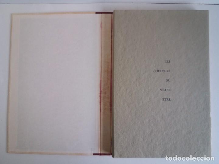 Libros: EXCEPCIONAL Y BELLO LOS COLORES DEL VERBO SER SOLO 50 EJEMPLARES NUMERO 20 1965 - Foto 4 - 216355237