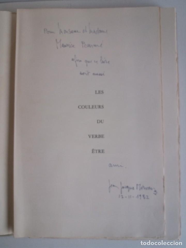 Libros: EXCEPCIONAL Y BELLO LOS COLORES DEL VERBO SER SOLO 50 EJEMPLARES NUMERO 20 1965 - Foto 5 - 216355237