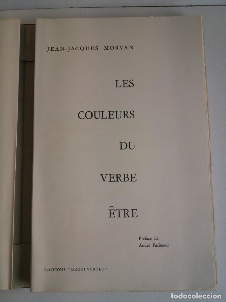 Libros: EXCEPCIONAL Y BELLO LOS COLORES DEL VERBO SER SOLO 50 EJEMPLARES NUMERO 20 1965 - Foto 7 - 216355237