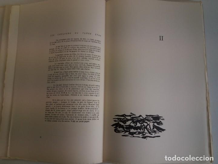 Libros: EXCEPCIONAL Y BELLO LOS COLORES DEL VERBO SER SOLO 50 EJEMPLARES NUMERO 20 1965 - Foto 13 - 216355237