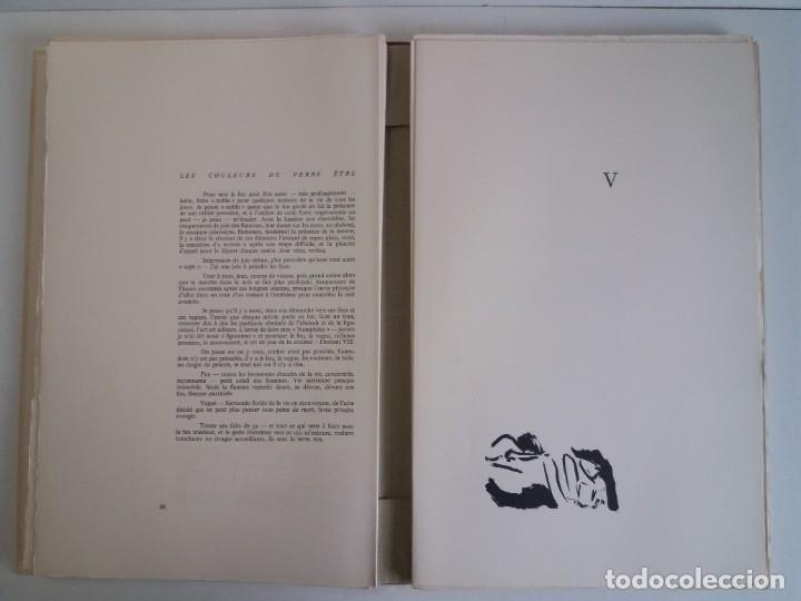 Libros: EXCEPCIONAL Y BELLO LOS COLORES DEL VERBO SER SOLO 50 EJEMPLARES NUMERO 20 1965 - Foto 14 - 216355237